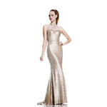Johnathan Kayne Womens 533 Champagne Sequin  Prom Dresses