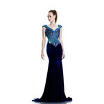 Johnathan Kayne Womens 564 Royal Velvet  Prom Dresses