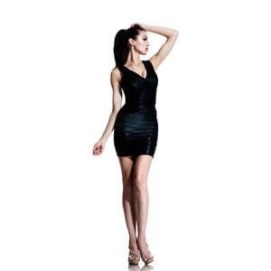 Johnathan Kayne Womens 531 Black Jersey  Prom Dresses
