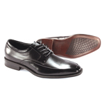 Giorgio Venturi Mens 6478 Black Leather Oxford Dress Shoes