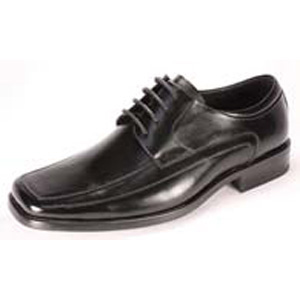 Giorgio Venturi Mens 4941 Black Leather Oxford Dress Shoes