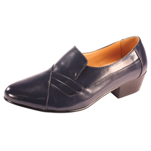 Ditalo Mens 5629 Navy Leather Oxford Dress Shoes