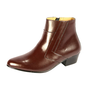 Ditalo Mens 5631 Brown Leather Boot Dress Shoes