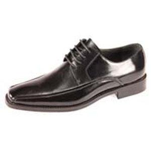 Giorgio Venturi Mens 6214 Black Leather Oxford Dress Shoes