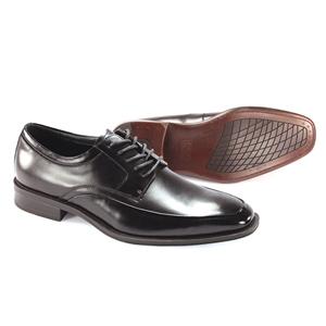 Giorgio Venturi Mens 6478 Black Leather Oxford Dress Shoes