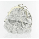 Helens Heart Womens FP-08196 Silver Sequin   Casual Handbags