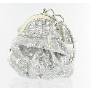 Helens Heart Womens FP-08196 Silver Sequin   Casual Handbags