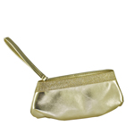 Touch Ups Womens Emily Gold Synthetic   Evening and Prom Handbags