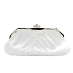 Touch Ups Womens Shiloh White Satin   Wedding Handbags