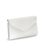 Touch Ups Womens Nellie White Satin   Wedding Handbags