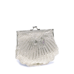 Touch Ups Womens Victoria Silver Synthetic   Evening and Prom Handbags