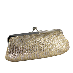 Touch Ups Womens Farah Champagne Synthetic   Evening and Prom Handbags
