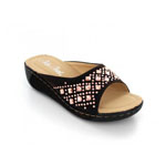 Helens Heart Womens CFW-100 Brown Synthetic Sandals Casual Shoes
