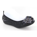 Helens Heart Womens CFW-2014-2 Black Synthetic Sandals Casual Shoes