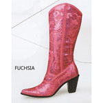 Helens Heart Womens LB-0290-12 Fuchsia Sequin Boots Casual Shoes