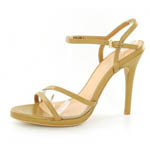 Helens Heart Womens PS-9312-1 Nude Leather Sandals Prom and Evening Shoes