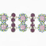 Jewelry by HH Womens JB-P001968 purple Beaded   Bracelets Jewelry