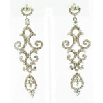 Jewelry by HH Womens JE-X004934 ab clear Beaded   Earrings Jewelry