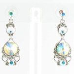 Jewelry by HH Womens JE-X005501 clear Beaded   Earrings Jewelry