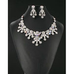 Jewelry by HH Womens NS-H001852 silver Beaded   Necklaces Jewelry