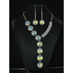Jewelry by HH Womens NS-H003146 clear Beaded   Necklaces Jewelry