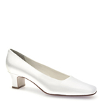 Touch Ups Womens Betty White Satin Pumps Wedding Shoes